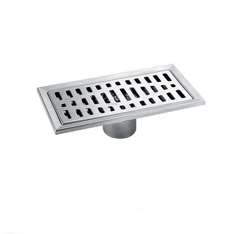 Best discount stainless steel bathroom floor drain grate brush nickel