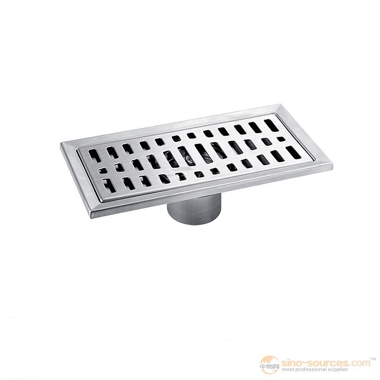 Best discount stainless steel bathroom floor drain grate brush nickel1