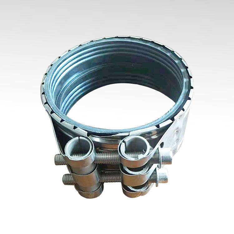 Metallic pipe tube clamp reinforce iron clamp