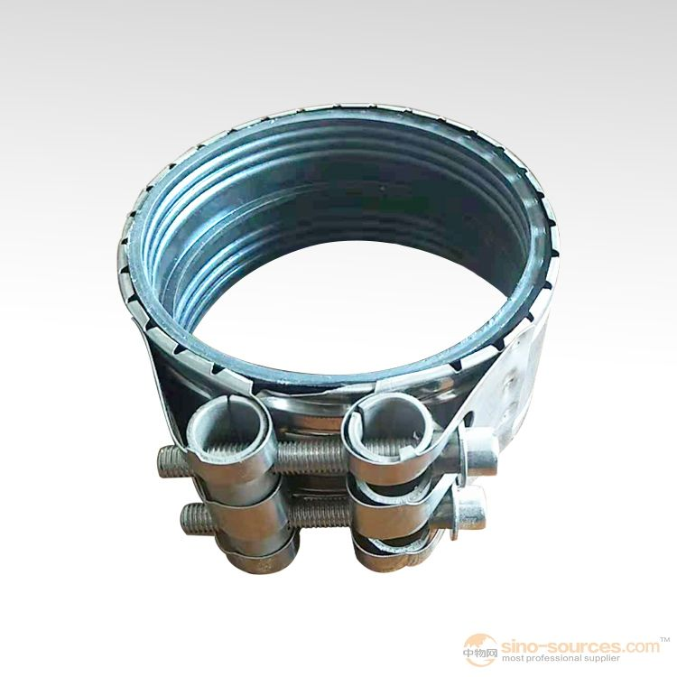 Metallic pipe tube clamp reinforce iron clamp