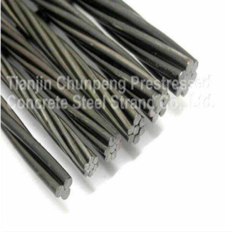 Prestressed steel strand 1*7  9 3mm