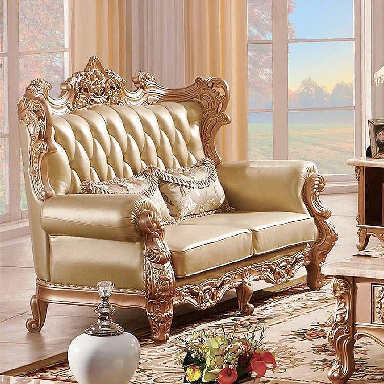 Luxury Dubai Sofa Furniture Gold Sofa Cheap Prices Foshan