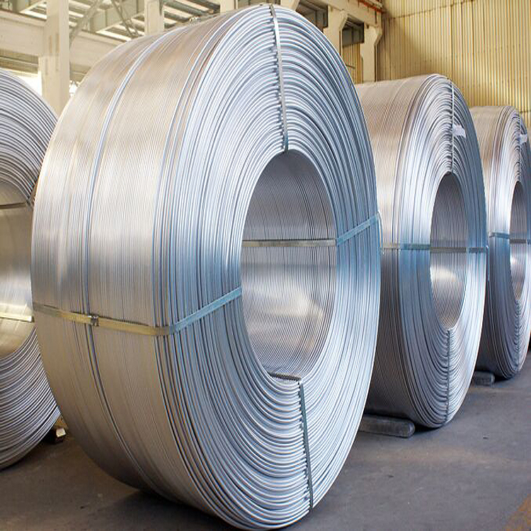 1350 1370 9 mm Aluminum Electrical Wire rod for electrical