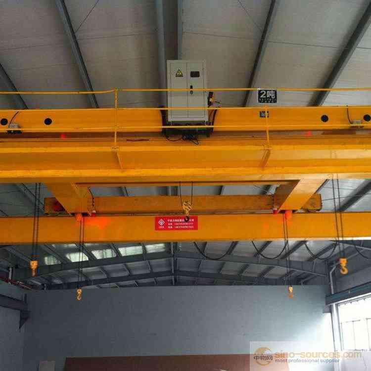 European LD 5T 10T Single Girder Warehouse Overhead Crane for Workshop