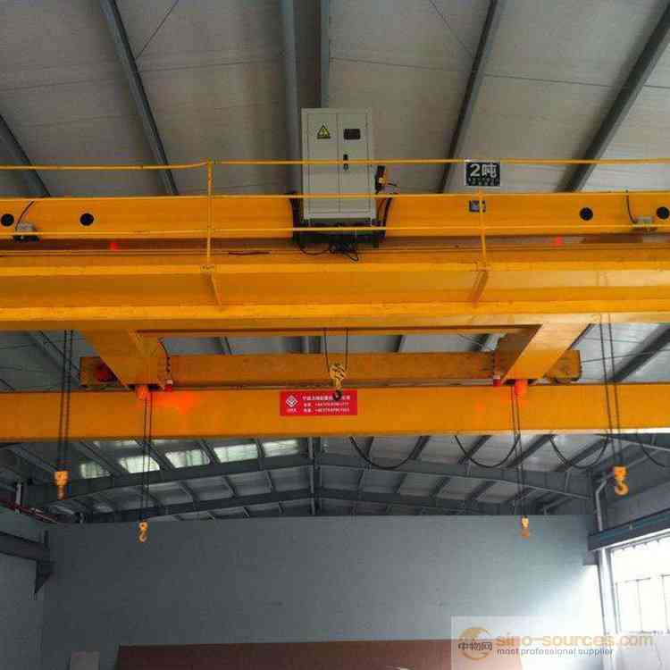 Weihua Top Traveling QD Type Double Girder Overehad Crane with Electrical Diagram