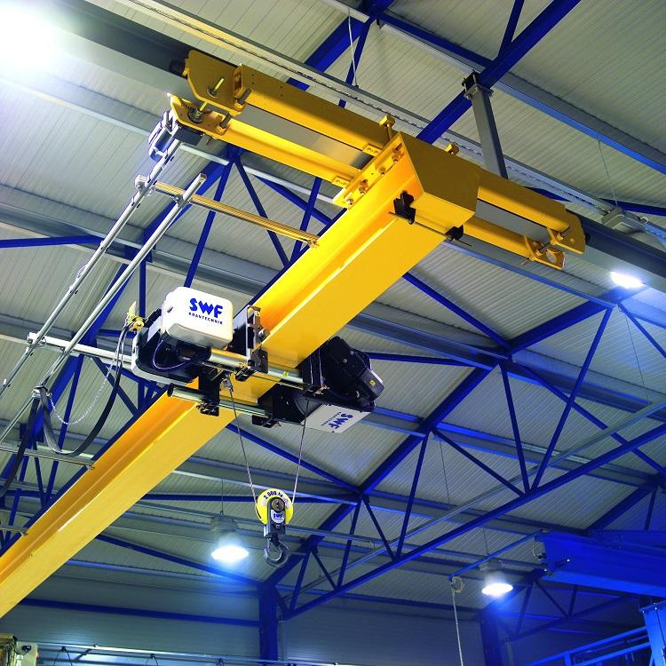 LD Type European Standard Light Duty 2 ton Single Girder Overhead CraneDisplay of double girder over
