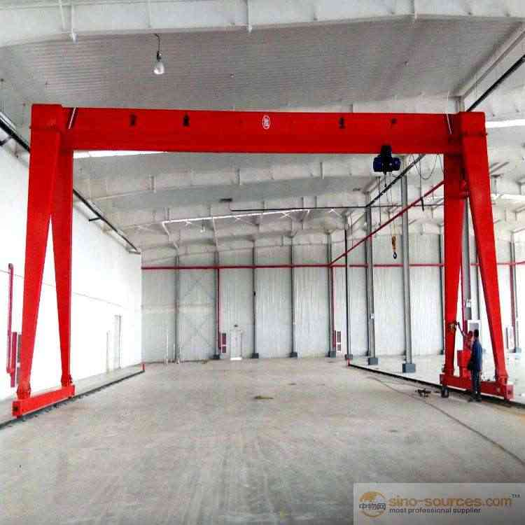 High Performance 18 Ton Electric Hoist Single Girder Eot Crane Price With Hoist