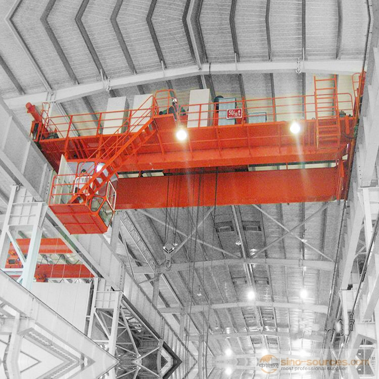 QD Model Electric Double Girder Bridge Travelling Crane