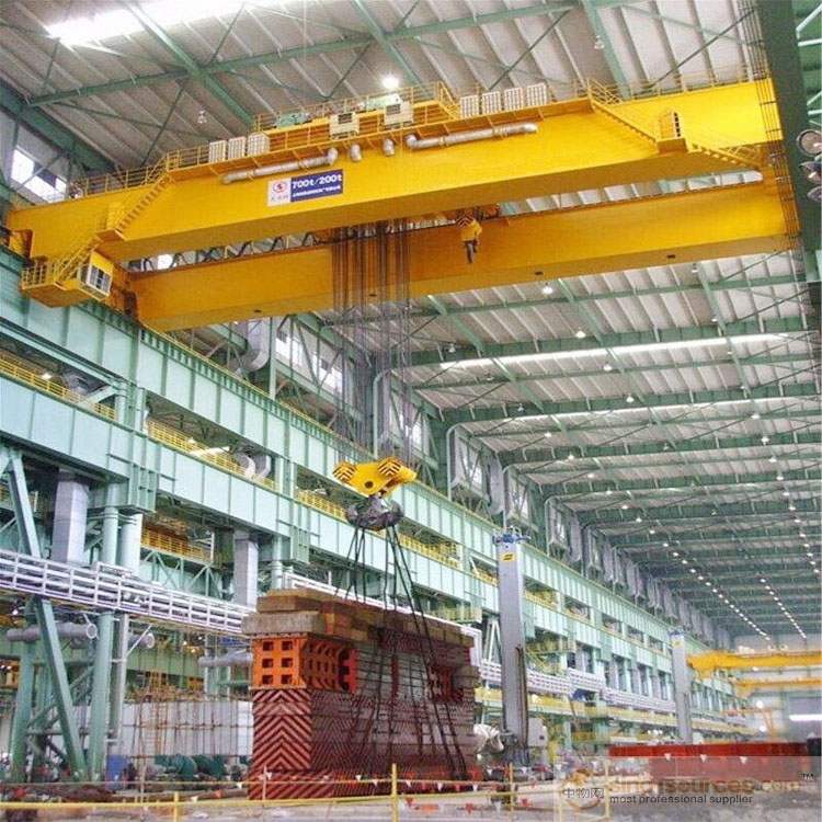 WEIHUA QD Model Single Girder 25Ton Overhead Crane/Bridge Crane