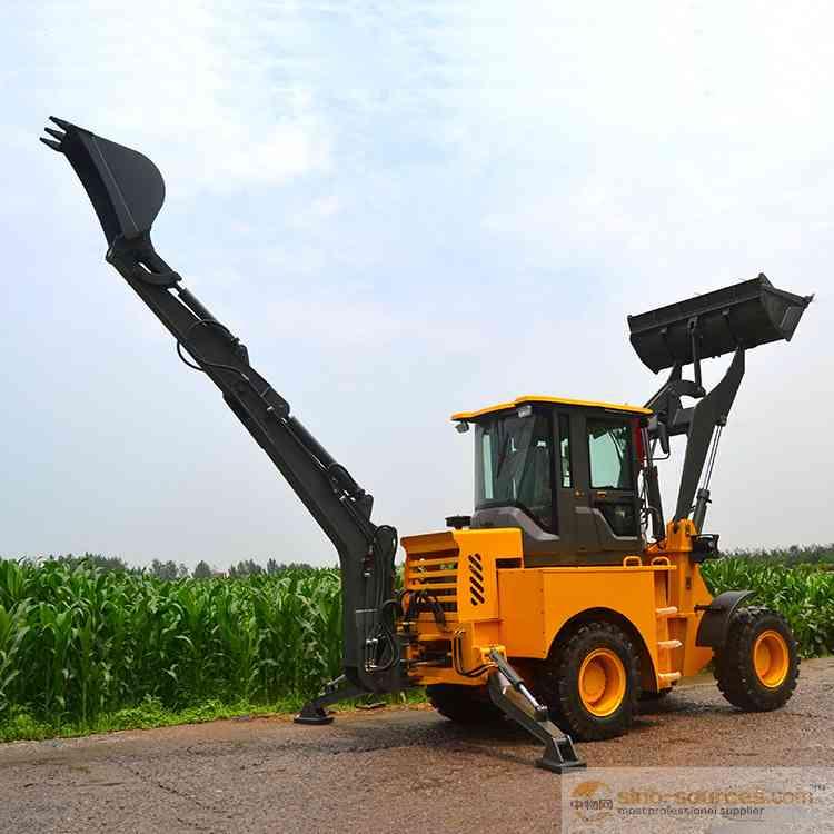 CE China mini backhoe MR22-10 small backhoe loader for farm