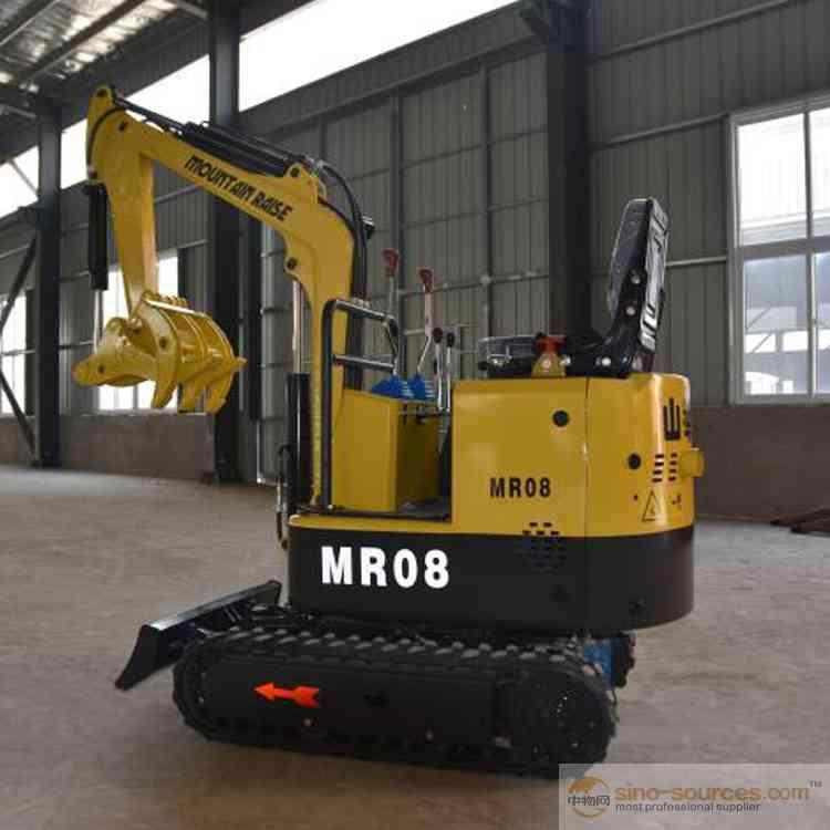800kg MR08 Crawler Mini Excavator For Sale