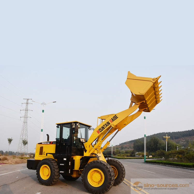 China road construction equipment 3ton wheel loader zl30 for sale
