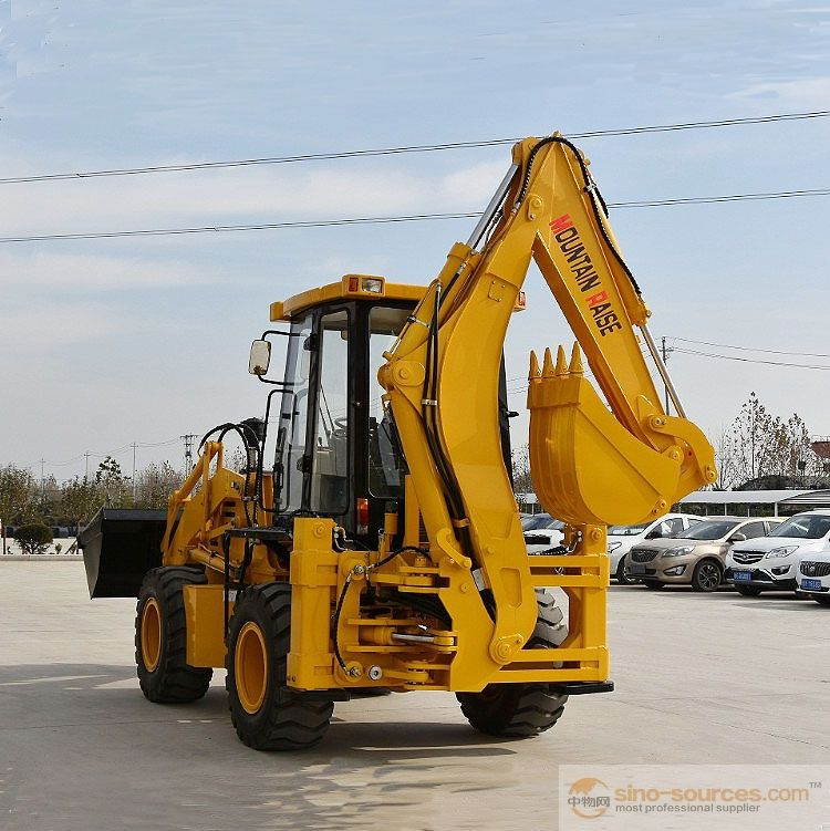 chinese articulated high quality cheap backhoe loader for sale