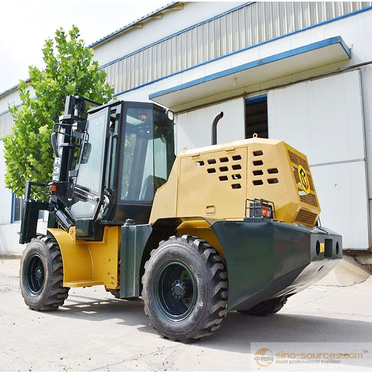 Manual Forklift CPCY35 Offroad All Terrain Forklift Truck