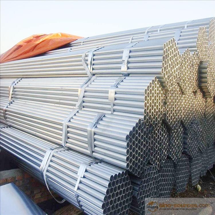 Pre galvanized steel pipes2