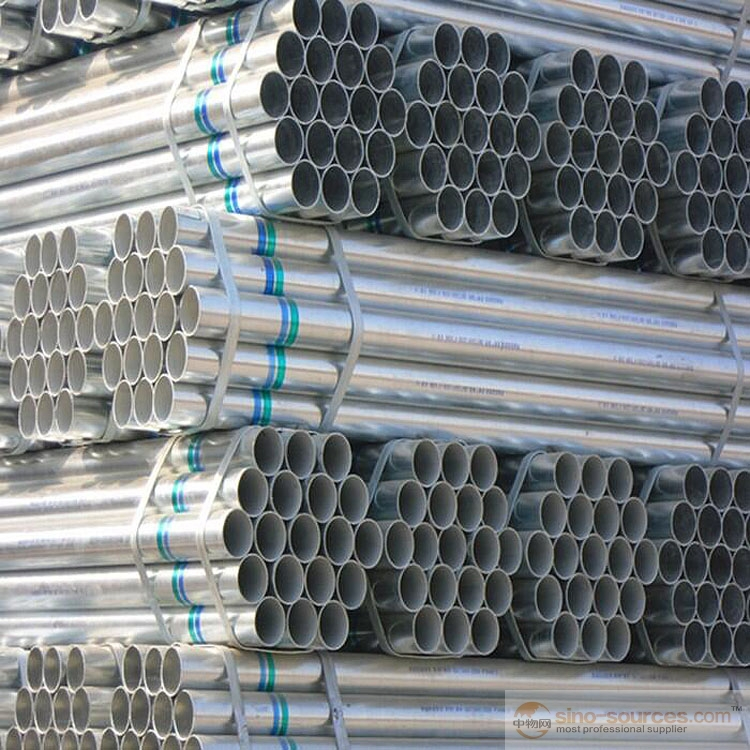 Pre galvanized steel pipes5