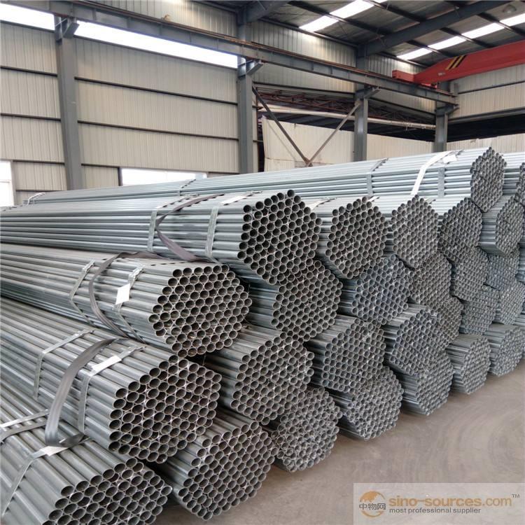 Pre galvanized steel pipes3