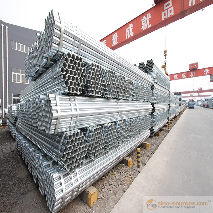 Schedule 40 Hot dipped Galvanized Steel Pipe3