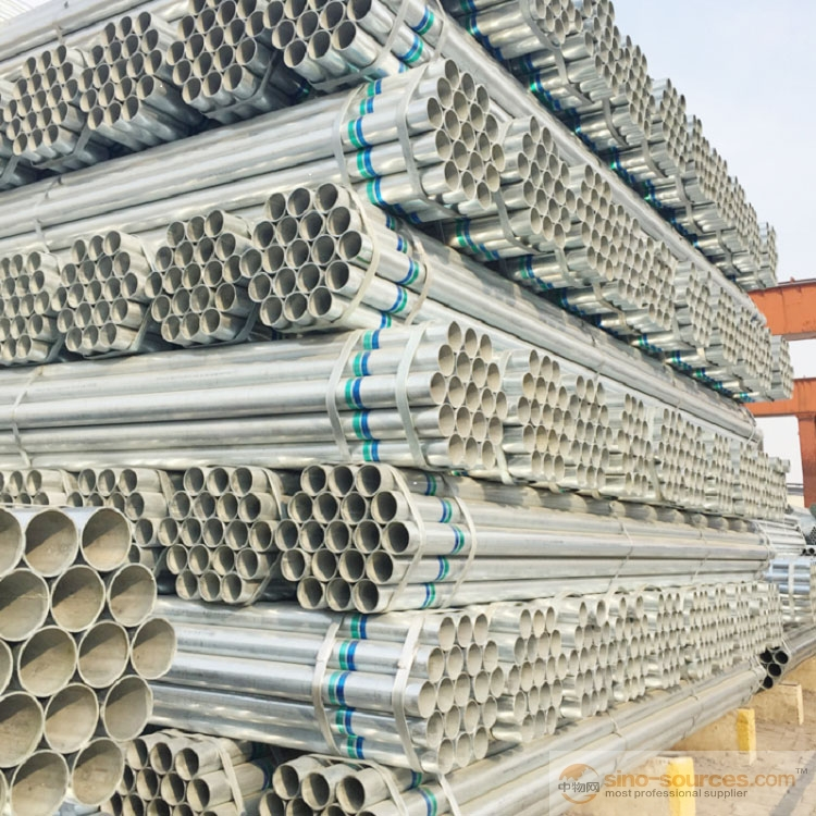 Schedule 40 Hot dipped Galvanized Steel Pipe4