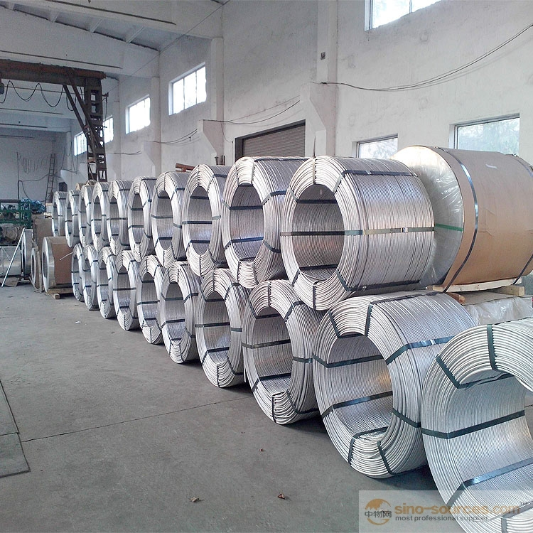 High Purity and alloy Aluminium Wire Rod