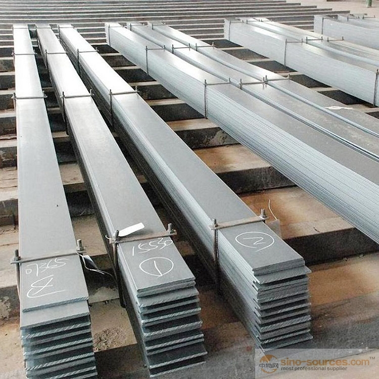 Steel flat bar exported in the world2