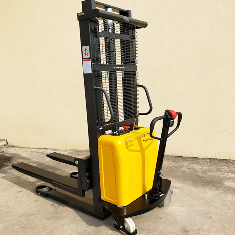 material handling equipment 1000kg electric pallet stacker
