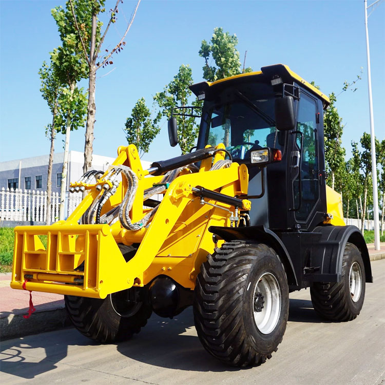 China engineering&construction machinery/earth-moving machinery wheel loader/mini 1-2 t wheel loader