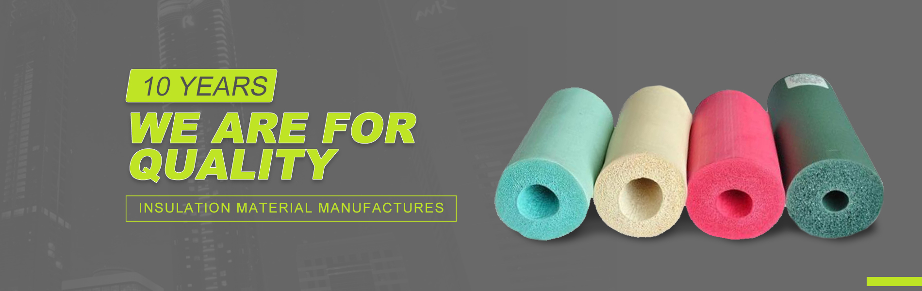 Wanmaide is professional producing in kinds of Insulation material and waterproof material