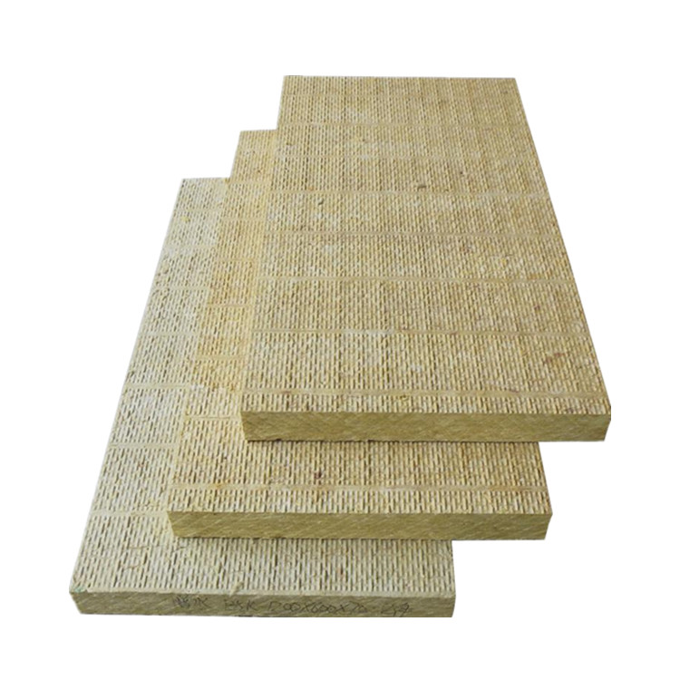 Waterproof thermal insulation price insulation rock wool board