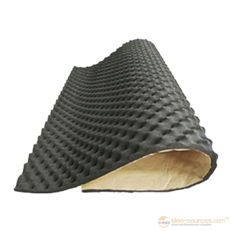 Excellent acoustical and heat insulation rubber foam board