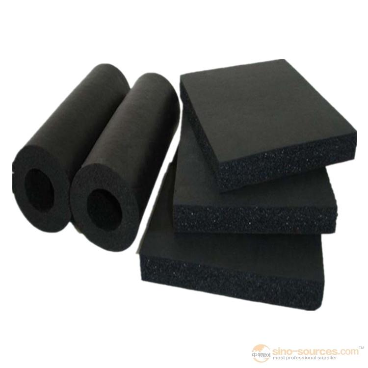 Good pliability rubber foam heat insulation material2