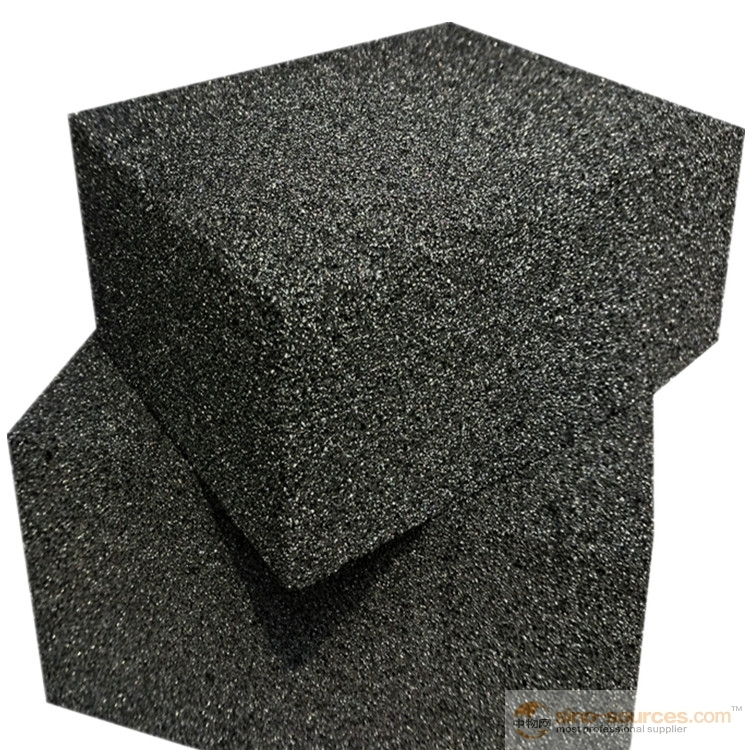 Ecologically friendly sustainable construction insulation material   foam glass5