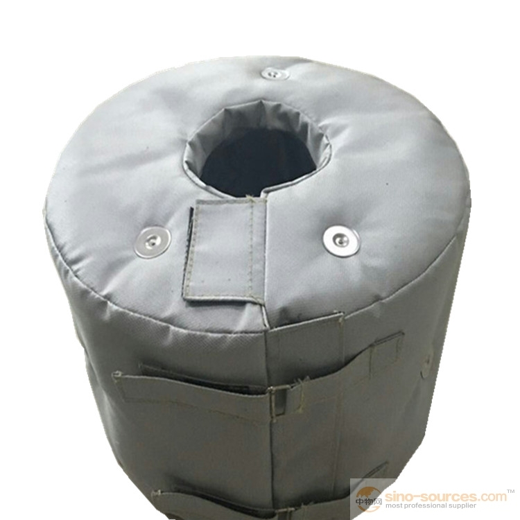 Reusable and Removable Flexible Insulation Valve Jackets