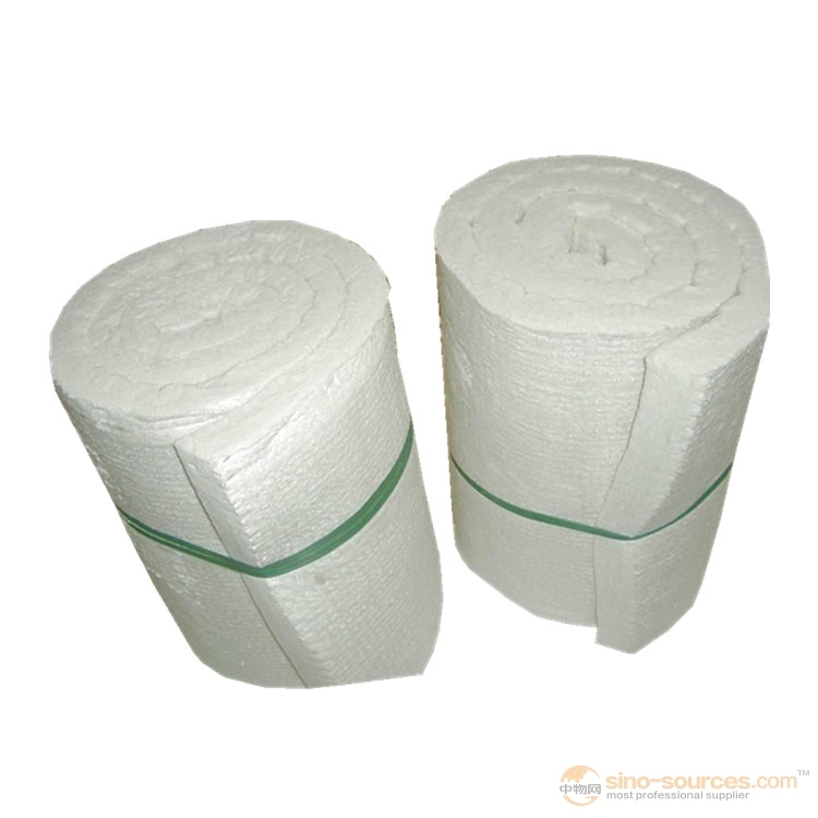 Good Light Weight Stability Aluminum Silicate Fiber Plain Felt Uesd for Industrial Furnace2