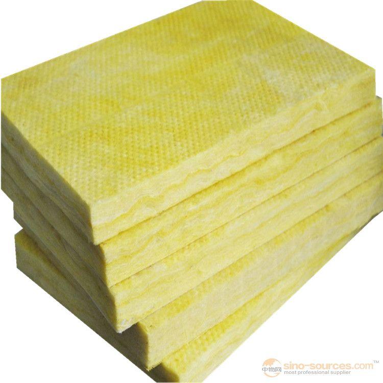 Soundproof fiberglass heat insulation glass wool building material5