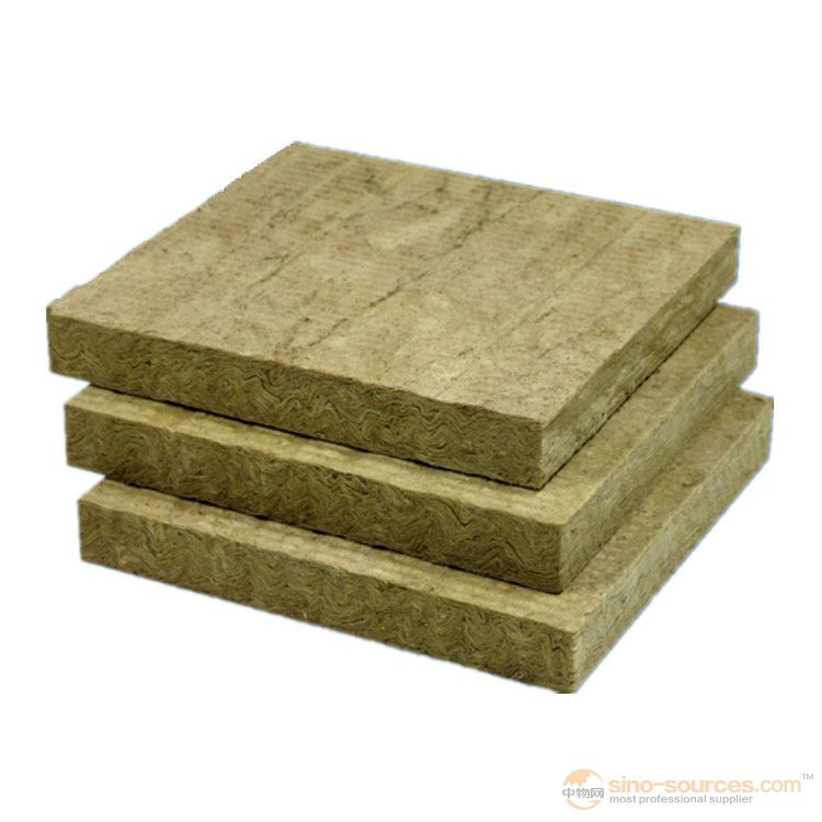 Type of thermal insulation material rock wool insulation board rock wool board