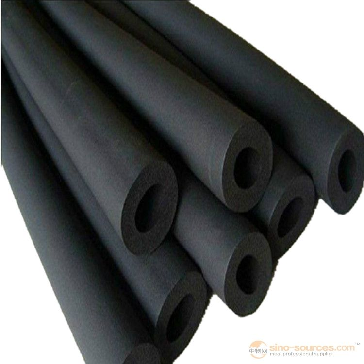 Non Flammable closed cell Insulation Rubber Foam Pipe