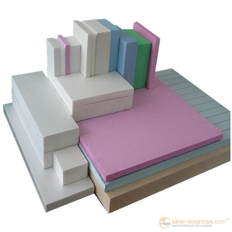 Manufacturers produce high density polystyrene foam board insulation fireproof exterior wall insulat