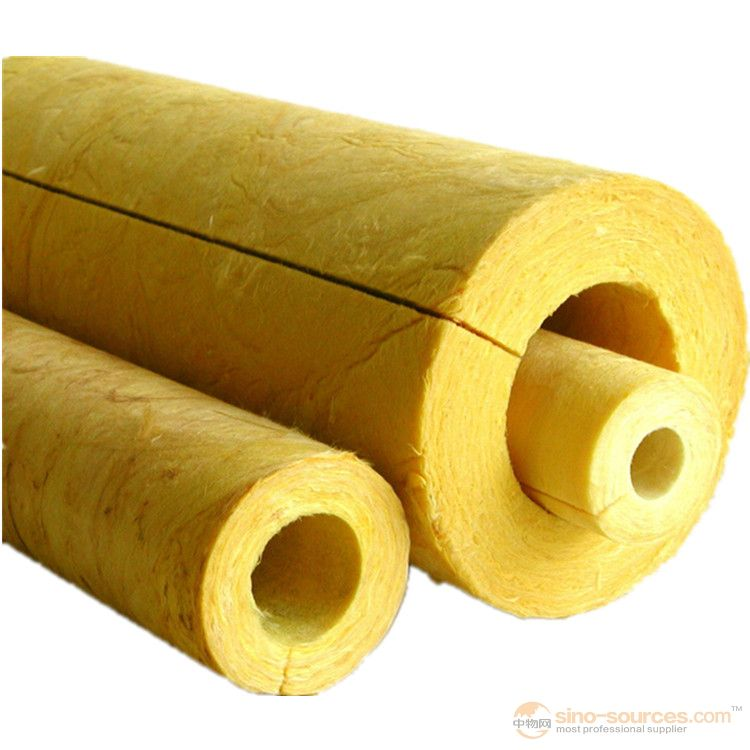 Normal wool glass wool pipe  insulation building material