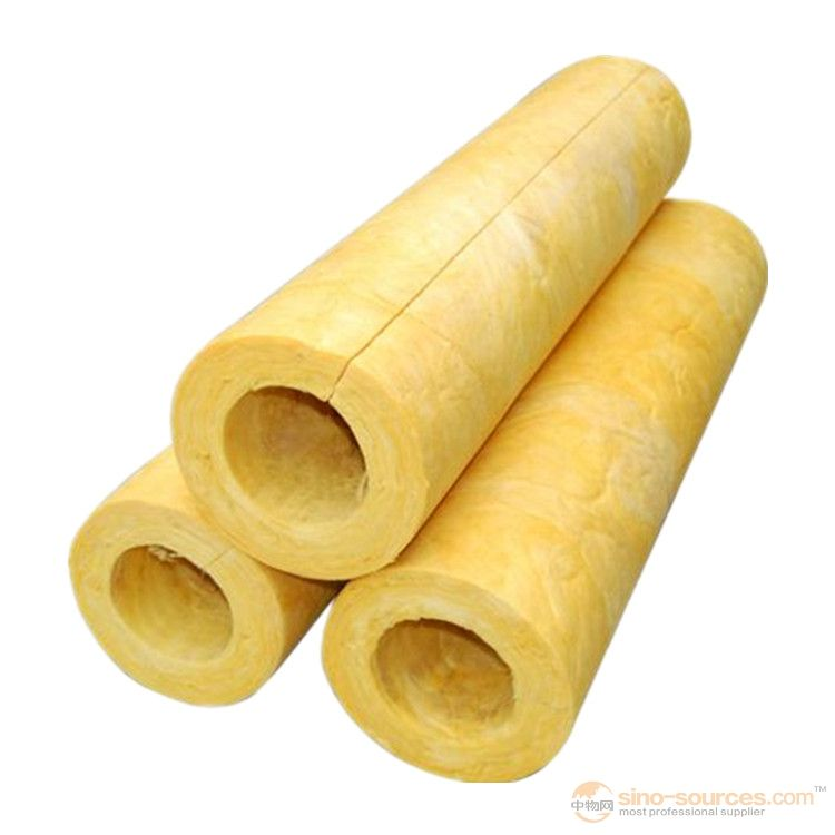 Normal wool glass wool pipe  insulation building material 2