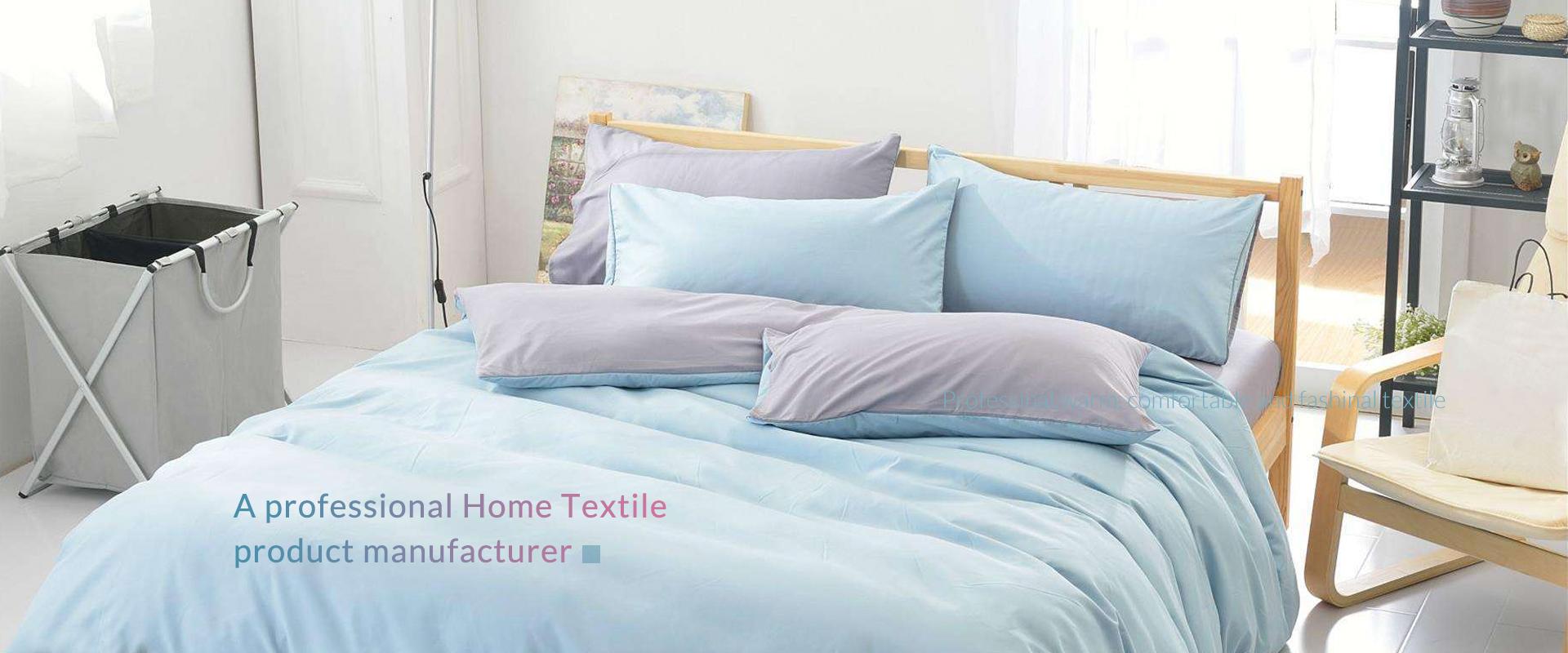 Fresh color four-piece bedding set