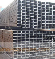 Galvanized square steel pipe made in China1