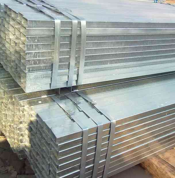 Galvanized Rectangular pipe with Factory Price