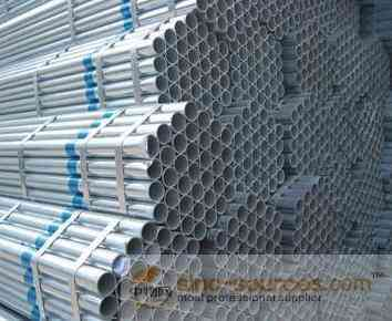 High Quality hot galvanized steel pipe