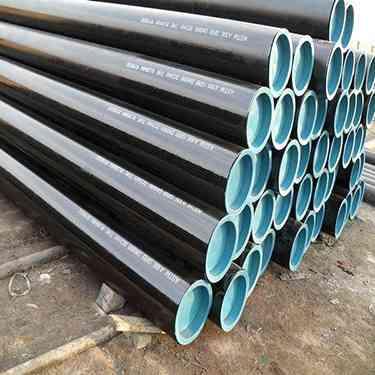 API 5L Gr.B X52 X70 Black Seamless Steel Pipe supplier