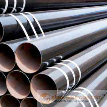 EMT conduit use ERW black carbon steel pipe supplier