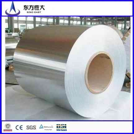Hot dipped Zinc Cold rolled Galvanized Steel coil dx51 supplier in China