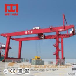 box girder traveling gantry crane with electric trolley
