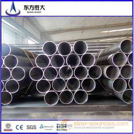 Q195 Q235 Q345 Welded ERW Carbon Hollow Steel Pipe