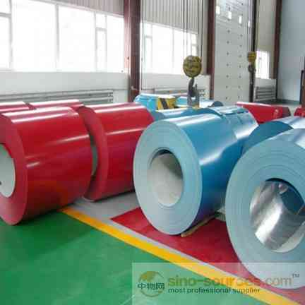 Various color 0.13-1.2mm Color Coated Steel Coil1